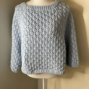Marie Studios sweater, baby blue no size